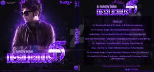 DJ Shadow Dubai - Desilicious 45 (Front and Back)