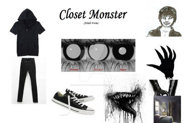 Closet Monster (adult form) Clothing stuff