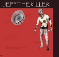 My version of Jeff The Killer by ImaginemonsterVi