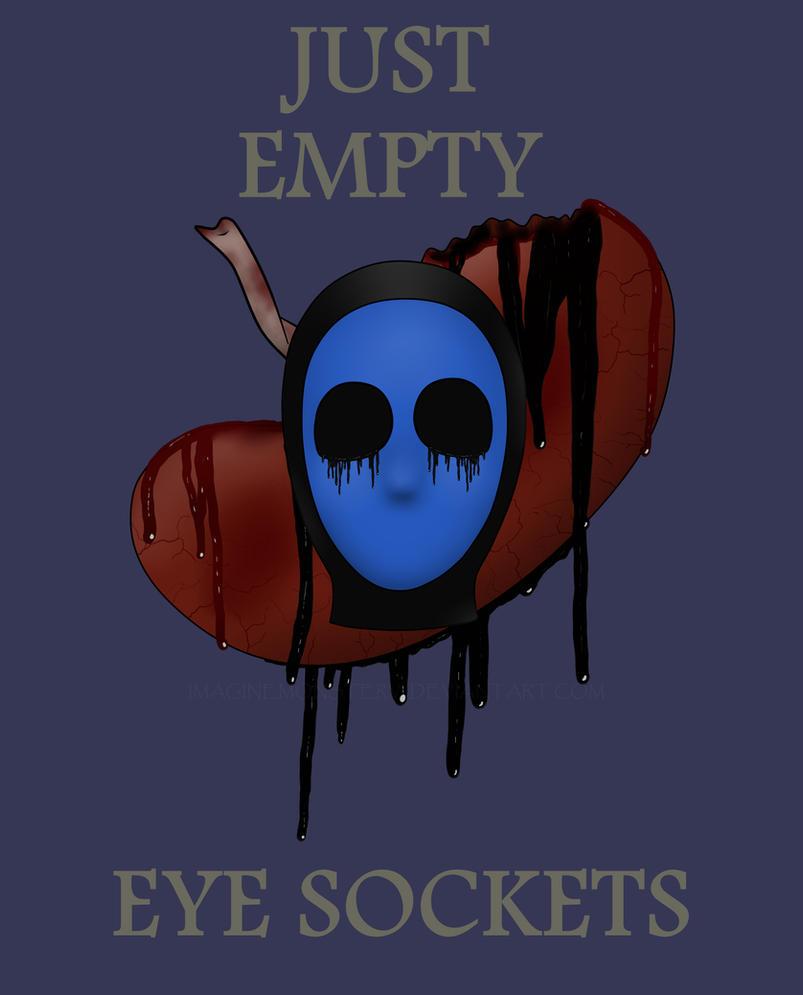 Creepypasta Headshot #8 - Eyeless Jack by ImaginemonsterVi