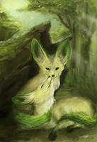 Pokemon - Leafeon by TheStink411