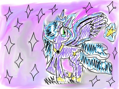 The sad betrayed princess by Pinkie---Dash