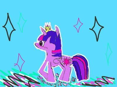 Princess Twilight Sparkle by Pinkie---Dash