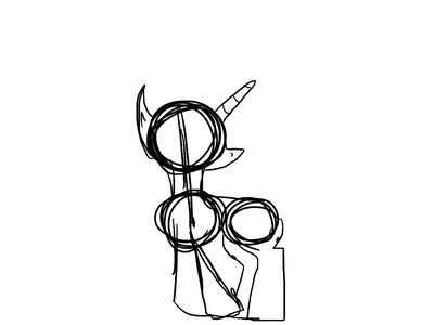 Unicorn sketch by Pinkie---Dash