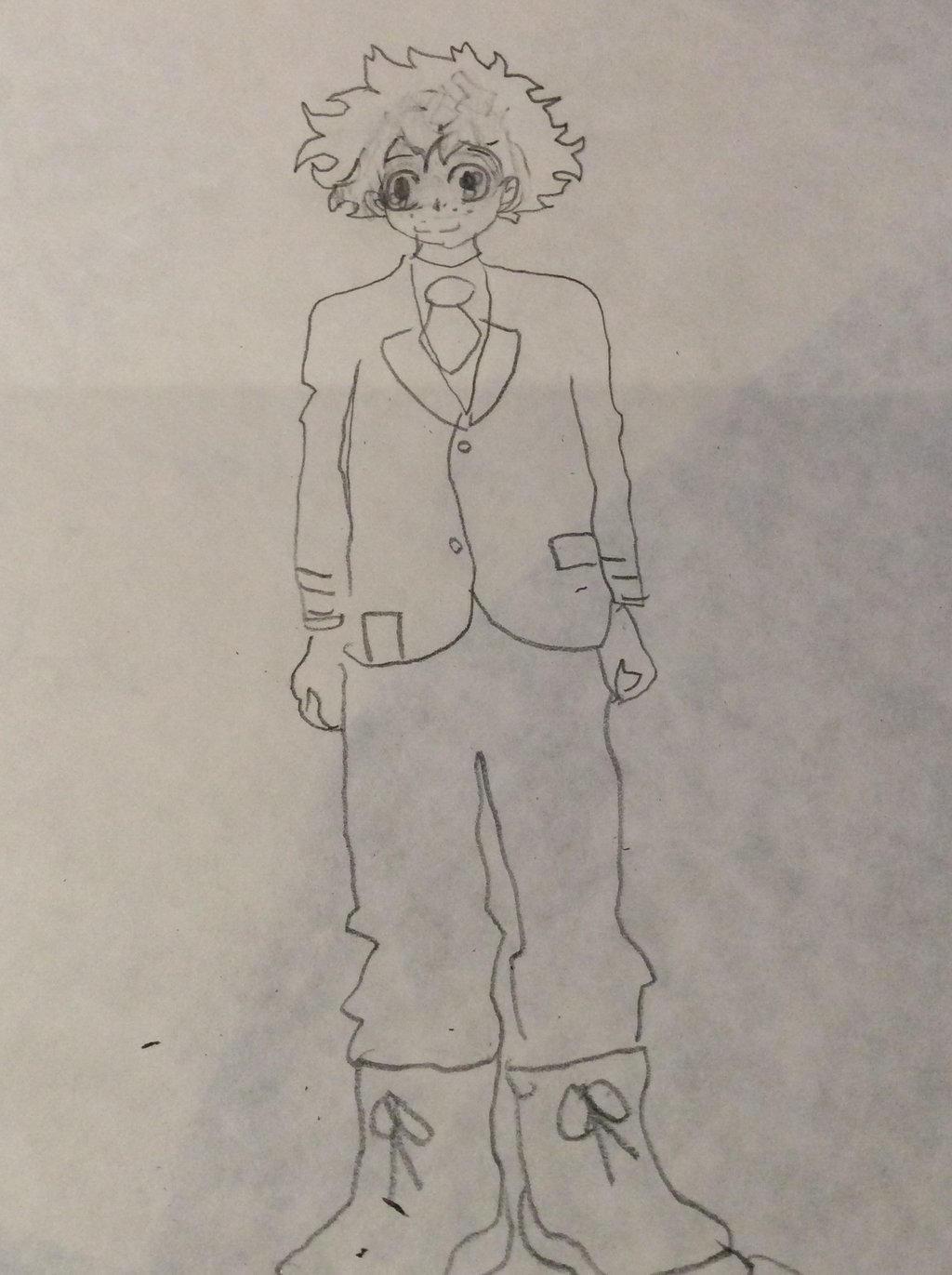 Izuku Midoriya (hero no academia) by Pinkie---Dash