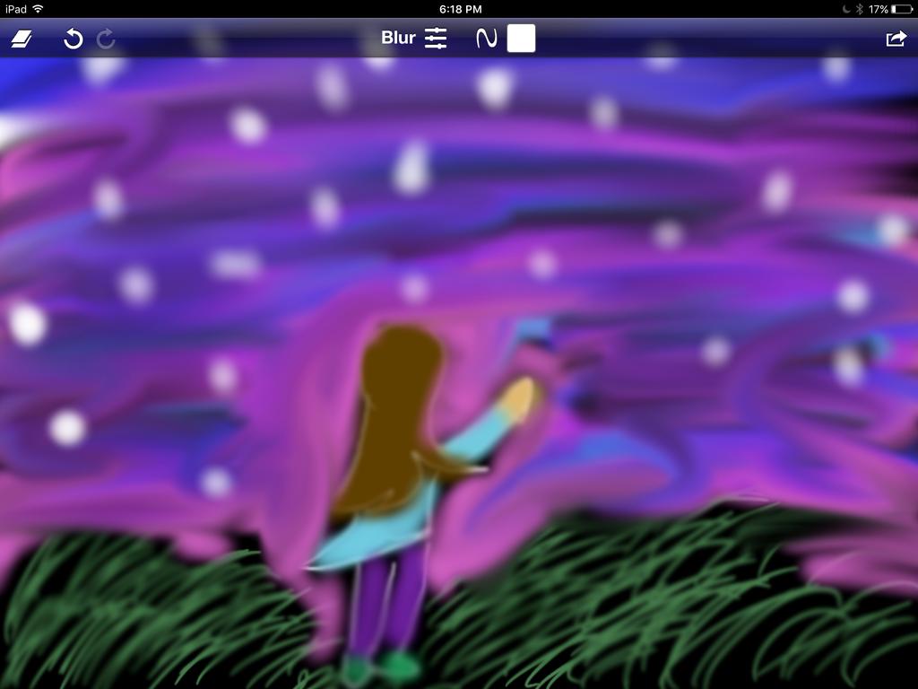 Galaxy waves by Pinkie---Dash