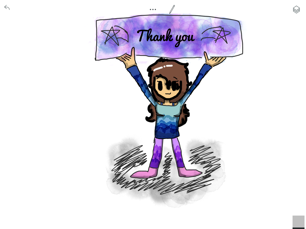 Thank you! Step 3- colouring by Pinkie---Dash