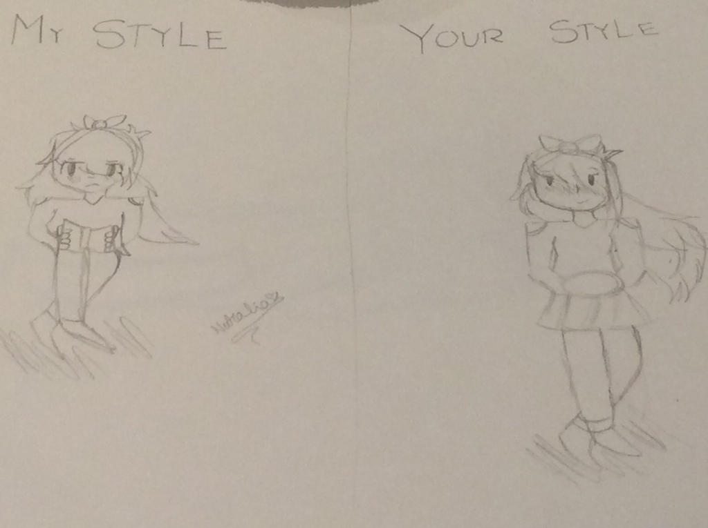 My style and your style (only me) by Pinkie---Dash