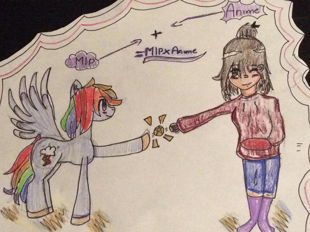 MlpXAnime by Pinkie---Dash