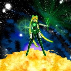 Emerald Moon, Ready for battle by Maelstromknight