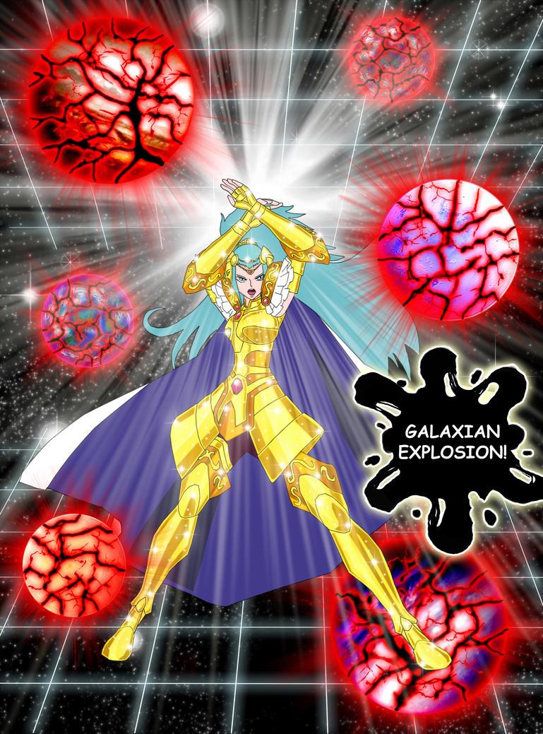 Gemini Integra Galaxian Explosion by Maelstromknight
