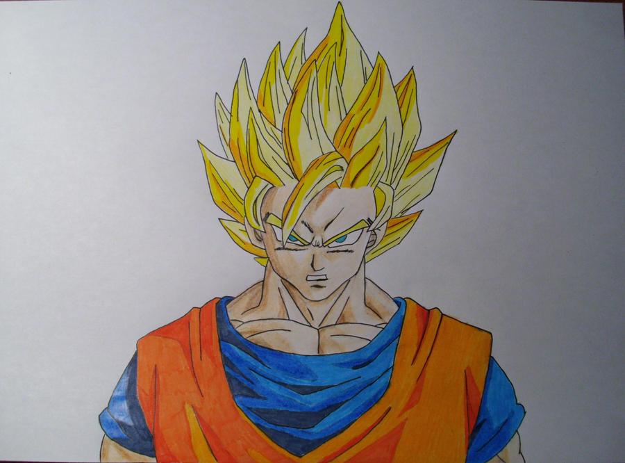 Goku Supersaiyan 2 by Kirval159 on DeviantArt