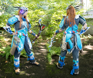 Aloy - Banuk Ice Hunter by TimmCosplay