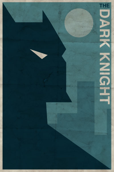 Batman - Vintage Poster by drawsgood
