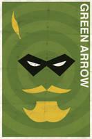Green Arrow - Vintage Poster by drawsgood