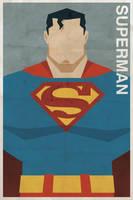 Superman - Vintage Poster by drawsgood