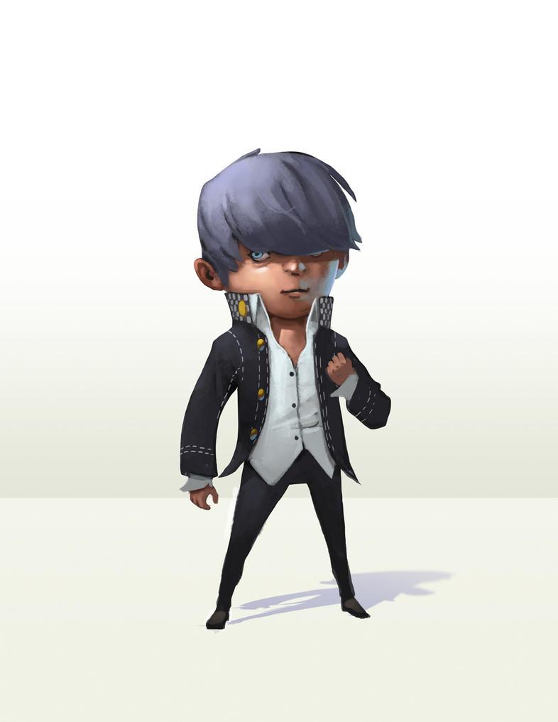 Yu - Persona 4 fan art by drawsgood