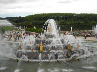 Fountain at Versaille Palace
