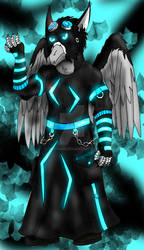 Cyber Goth Rave by Griphass