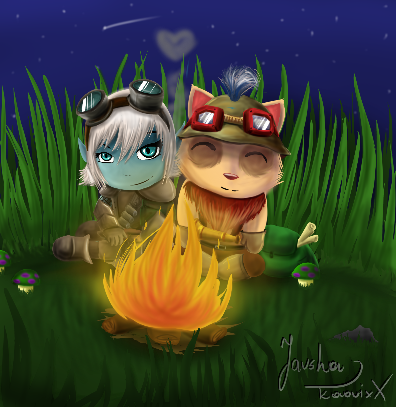 tristana and teemo relationship