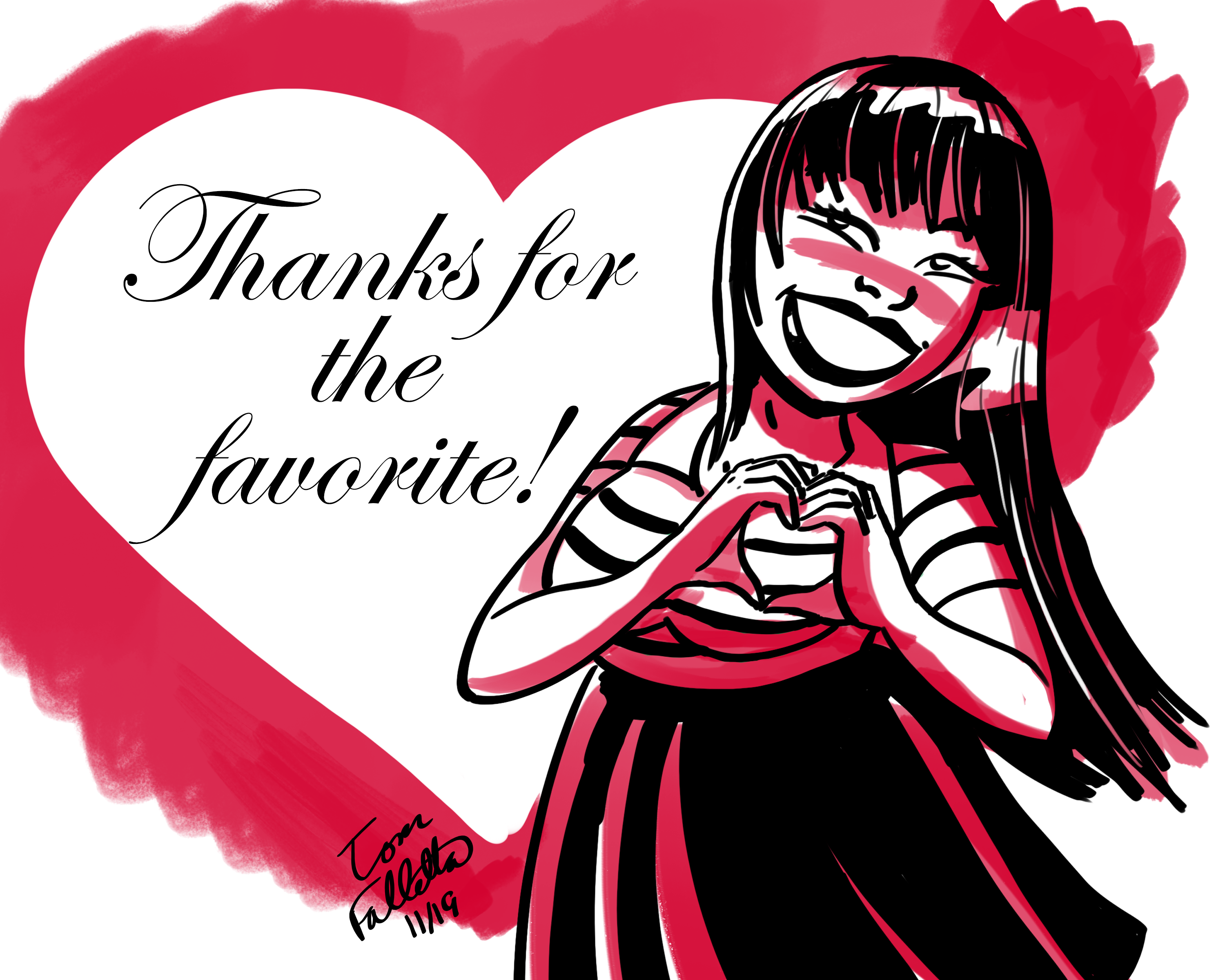 Thanks for the Favorite!