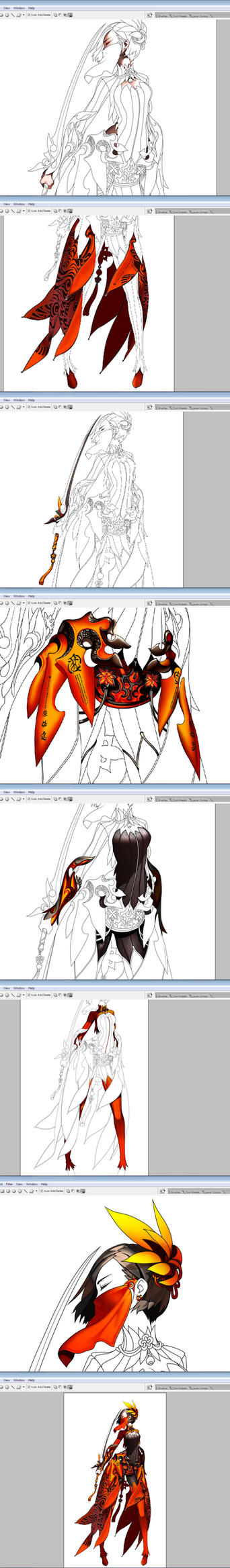 WIP Blade and Soul #2 vector by ndox9