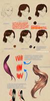 Hair Rendering studies + Notes