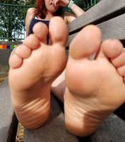 Alysee's feet 6