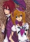 Shiki and Rima by StXRebel