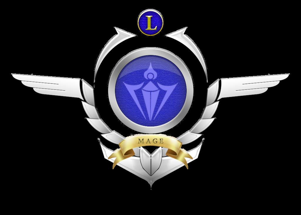Custom Mage logo (League of legends) by Xenogaeia
