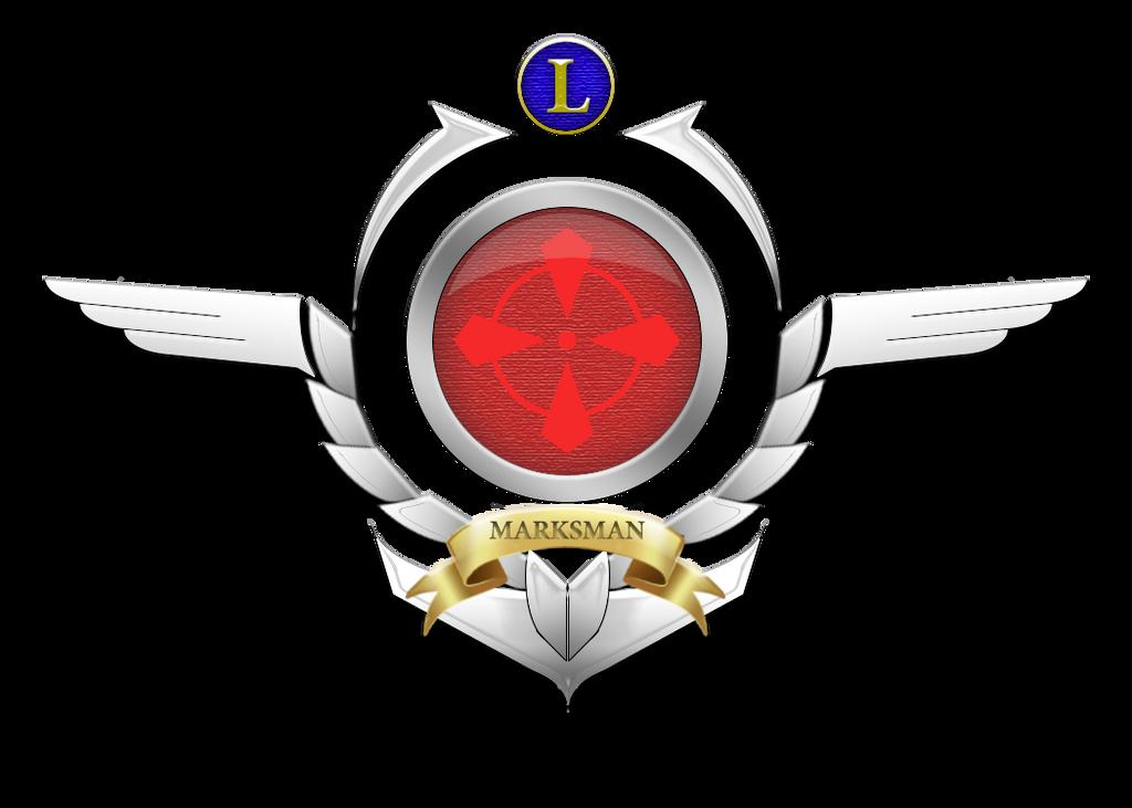 Custom Marksman logo (League of legends) by Xenogaeia