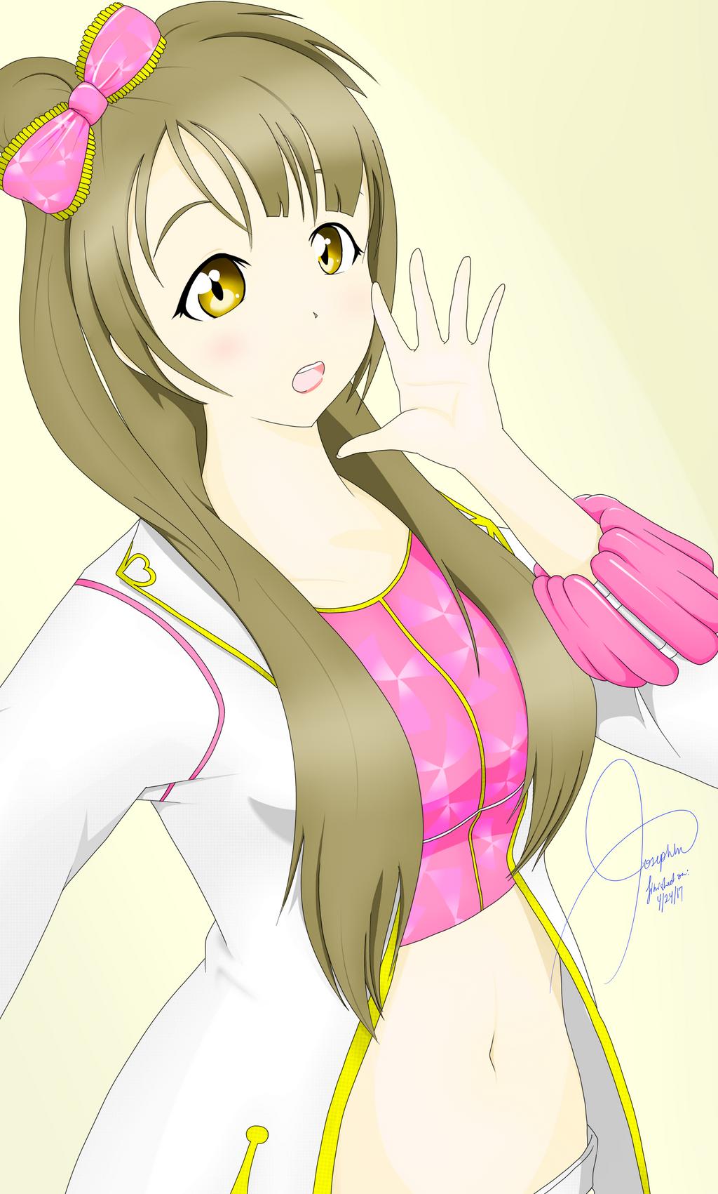 Kotori Fan Art 2 by Xenogaeia