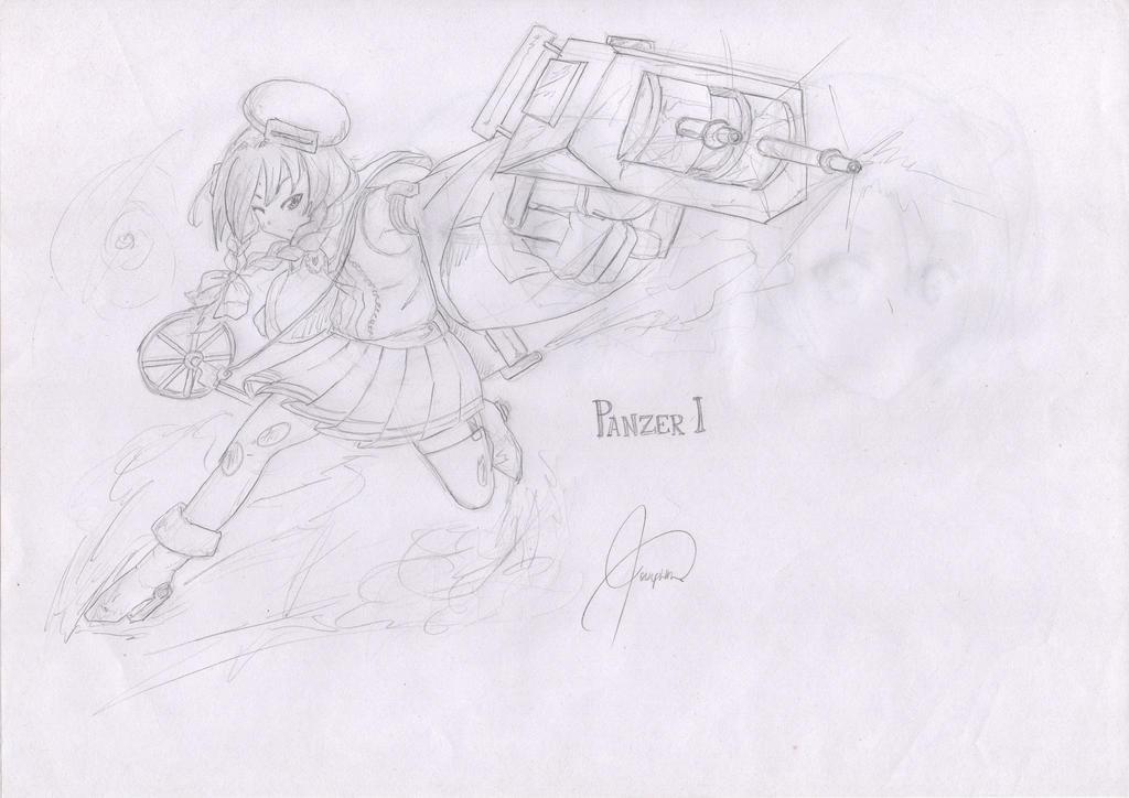 Panzer Girls: Panzer I by Xenogaeia