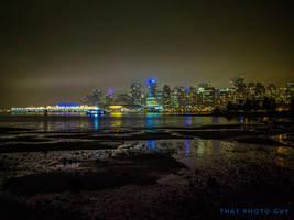 Vancouver Skyline at night !