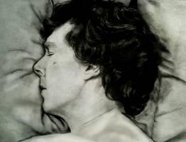 Sherlock Asleep by beth193