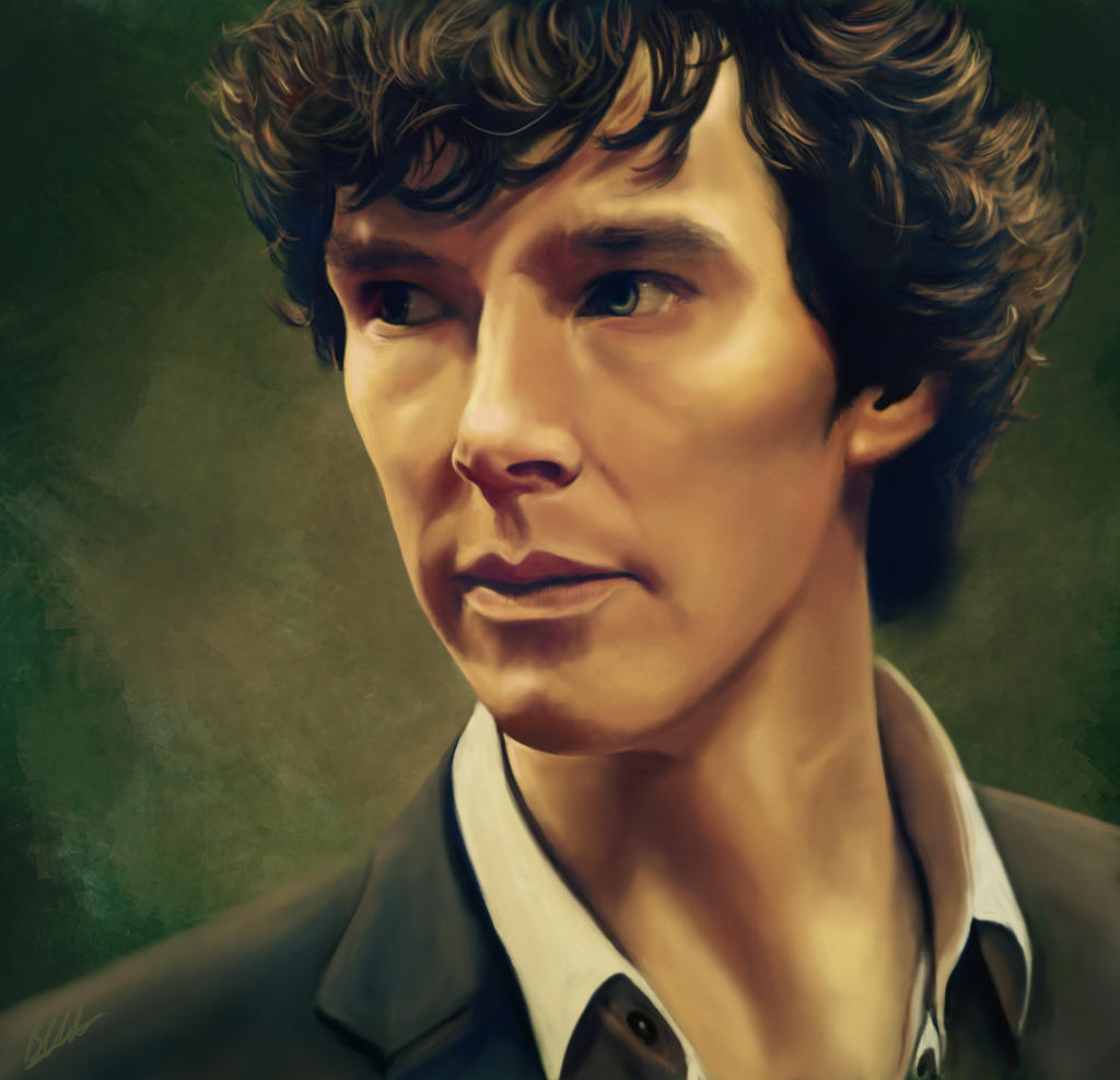 Sherlock Portrait by beth193