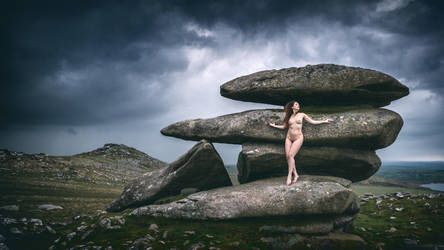 Ella Rose: Shelter from the coming storm by JeremyHowitt