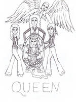 Queen's crest redone by me by LovelyAngie