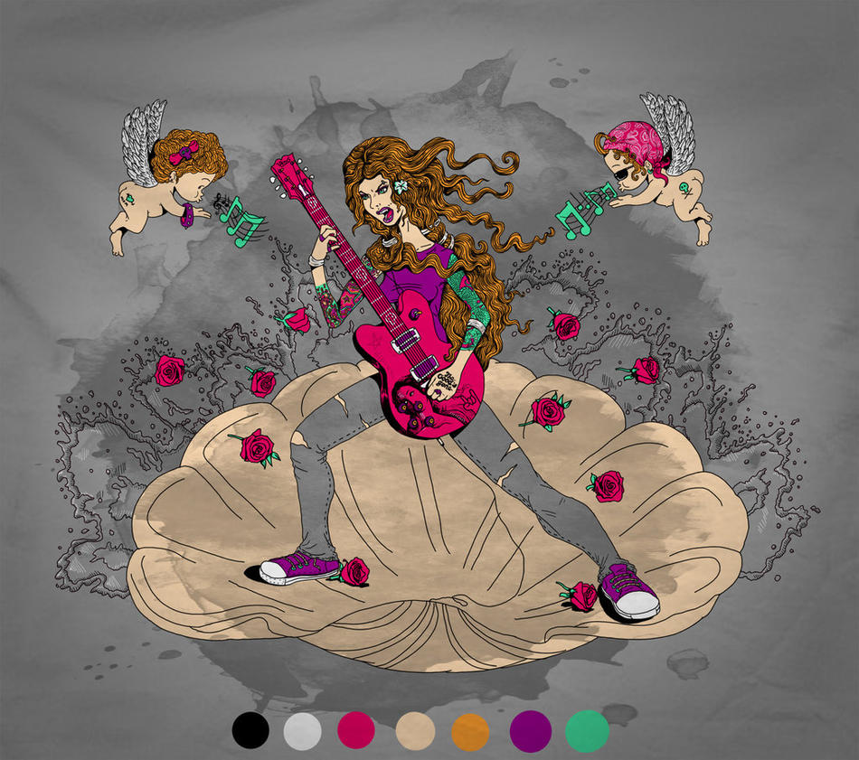 Birth of the Rocking Venus by Don-Pitayin
