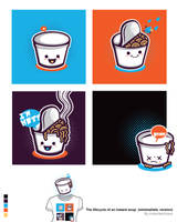 The Life Cycle of a Soup Shirt by Don-Pitayin