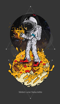 Melted Lunar Salsa-tellite