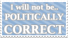 Politically Correct - Stamp by AlphaChap