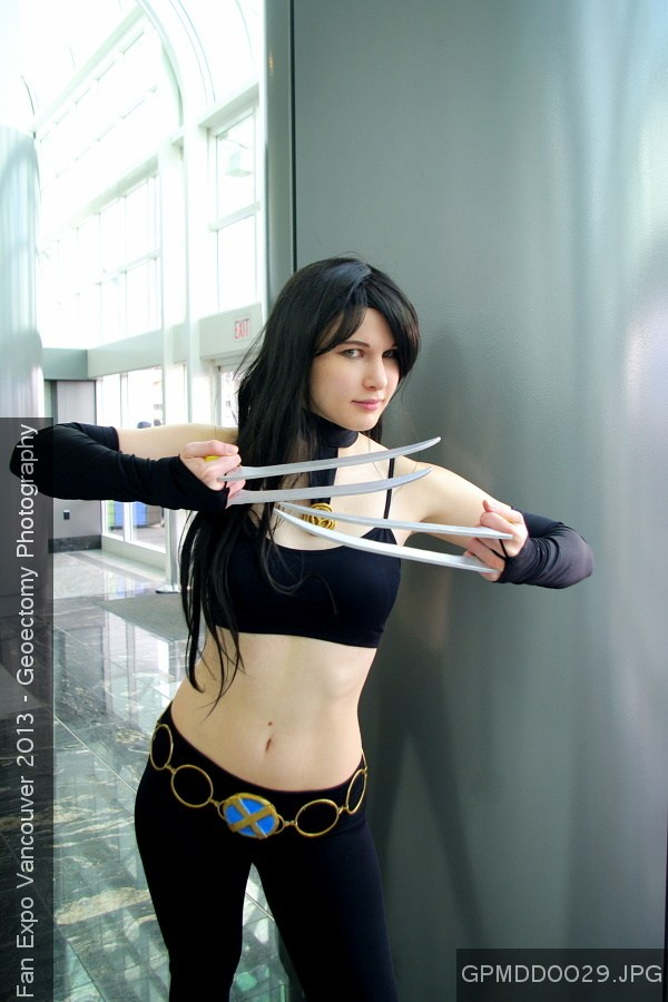 X-23  Cosplay by CuteyKitty