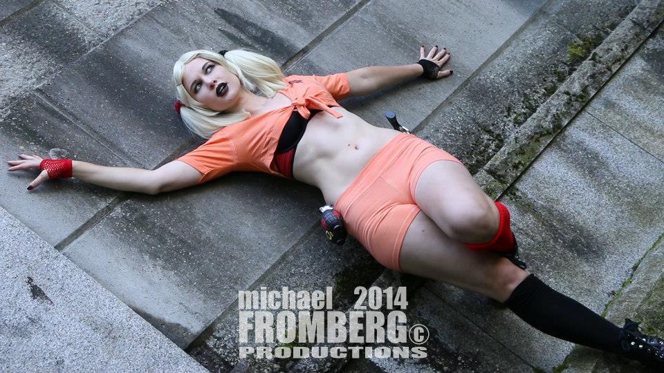 Inmate Harley Quinn by CuteyKitty