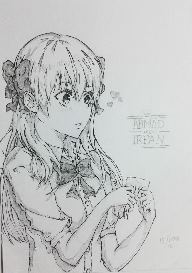 Gekkan Shoujo nozaki kun Fanart  Sakura Chiyo by HyOdOuAsHuRa