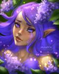 Lilac by AyyaSOL
