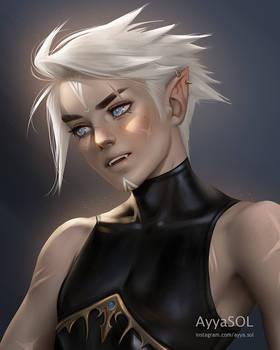 Demian (random elf OC)