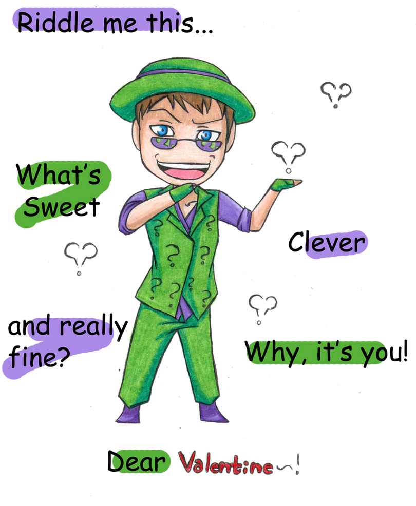 Riddle me Valentine by Dark-Taichou