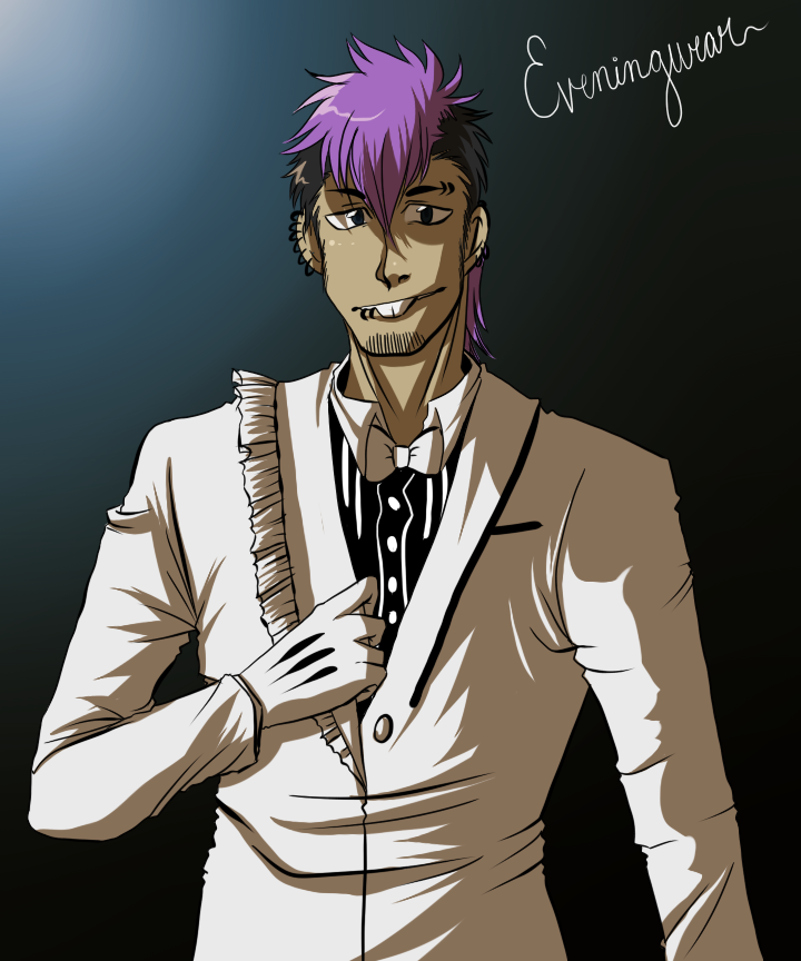 Max in evening wear by Zombay-Senpai