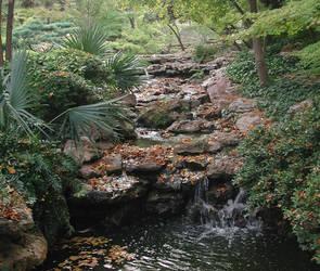 Japanese Waterfall 01